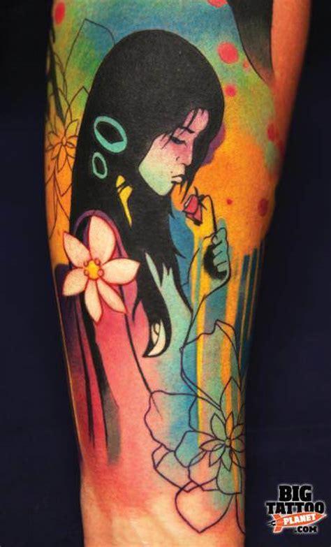 ivana tattoo ivana belakova creates explosively colorful meaningful