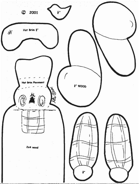 wood craft templates free craft patterns
