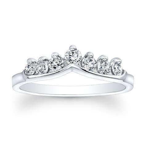 platinum and shadow band wedding ring onewed
