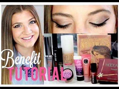 eyeshadow tutorial benefit benefit cosmetics one brand makeup tutorial youtube
