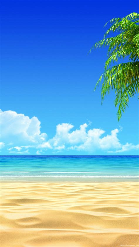 wallpaper for android beach 1080x1920 beach landscapess wallpapers hd