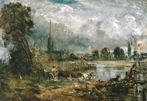 by john constable salisbury cathedral salisbury cathedral from the meadows by john constable