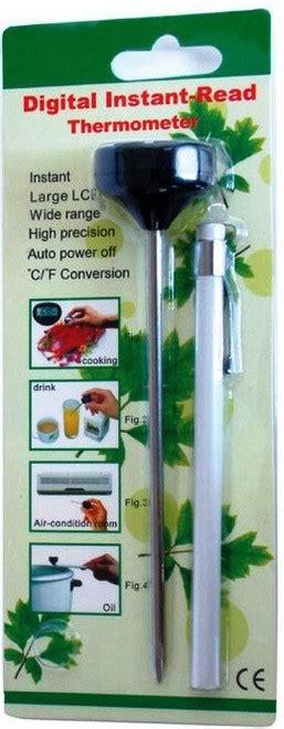 Termometer Untuk Memasak termometer digital kl 4101 cv jmm