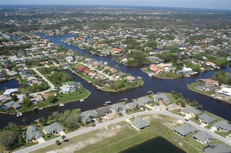 palm coast fl salt water canals photo picture image