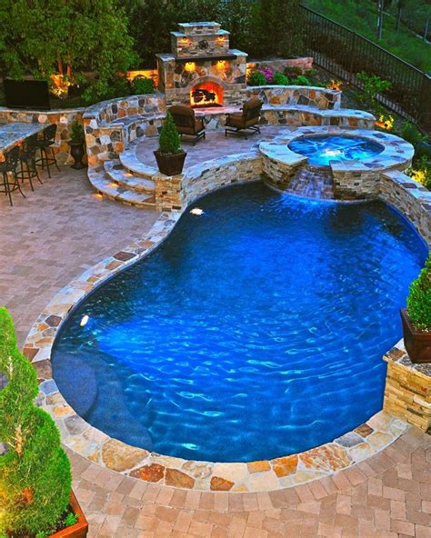 fire pit hot tub pool do want pinterest
