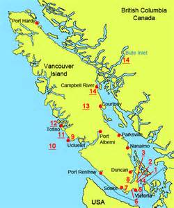 map vancouver island canada vancouver island maps