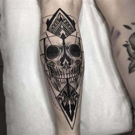 blackwork tattoo designs fresh blackwork skull leg from otheser blackwork