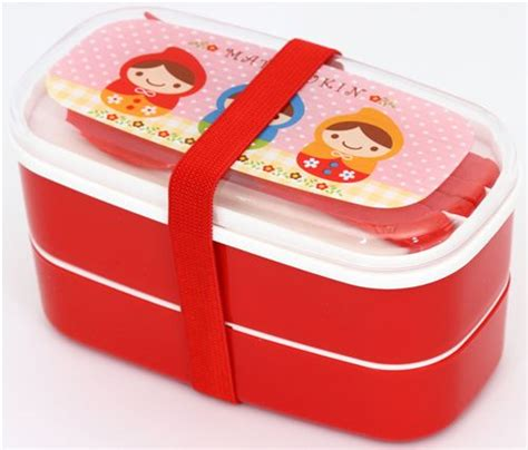 Lunch Box Japan Doll matroschka bento box russische puppen brotdose s 252 ss