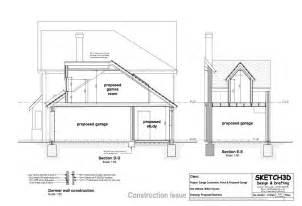 Garage Floor Plans With Loft by Garage Conversion Plan 2
