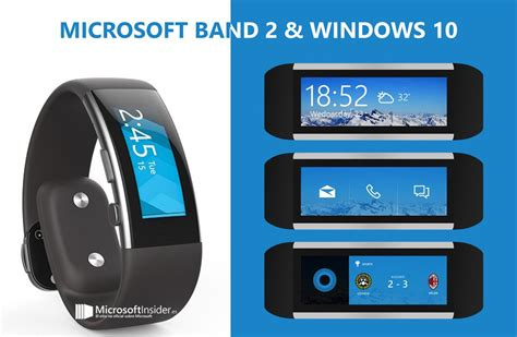 Microsoft Band 2 Microsoft Band 2 With Windows 10 Concept Is Just What We Need