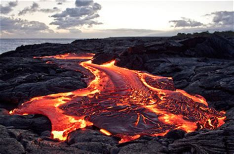 lava meaning lava flow definition types study