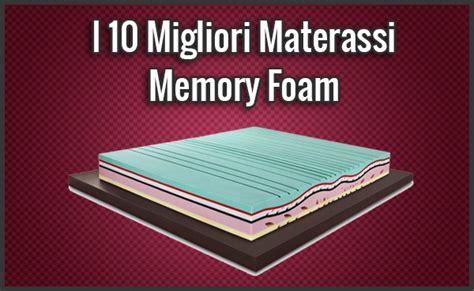 il miglior materasso memory foam i 10 migliori materassi memory foam opinioni recensioni