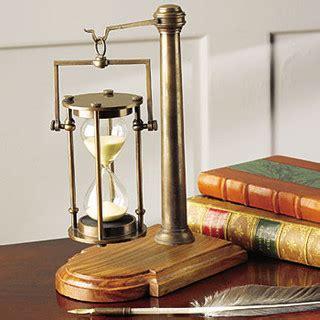glass desk accessories bronze 30 minute glass traditional desk accessories