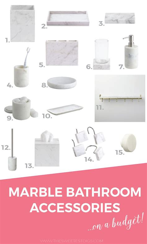Carrara Marble Bathroom Accessories The 25 Best Marble Bathroom Accessories Ideas On White Bathroom Decor Gold