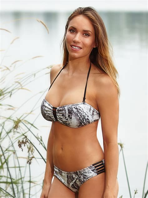 Mossy Oak Home Decor by North Snow Camo Bandeau Swimsuit