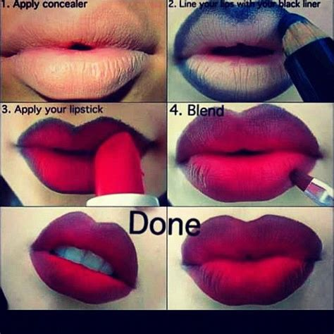 video tutorial lipstik ombre ombre lipstick photo by makeupartistpaige beauty
