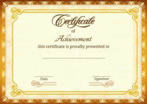 home design certificates as awards certificate printing