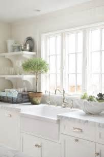 French Laundry Bedding White Apron Sink Cottage Kitchen Molly Frey Design