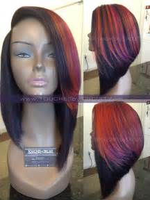 how to do a bob hairstyle with weave african violet sunset pre order touches by tircuit inc