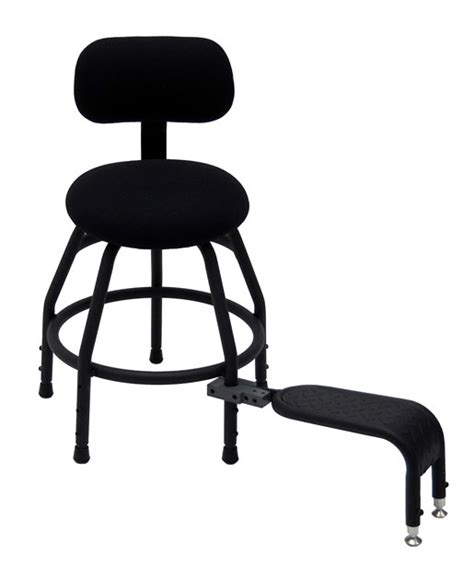 Guitar Seat Stool by Concert Design Ergonomic Harp Gig Stool And