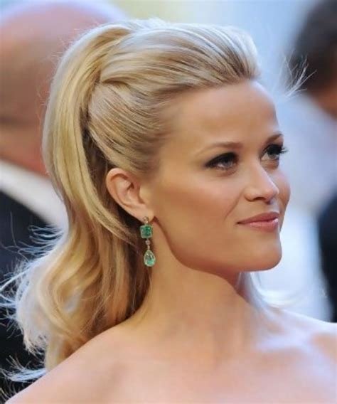 half up half down hairstyles without bangs reese witherspoon long hairstyle half up half down