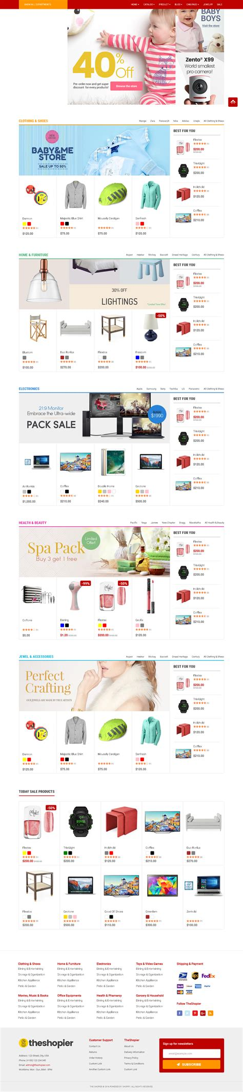 Shopify Themes For Large Inventory | 5 best shopify premium themes for large inventory stores 2018