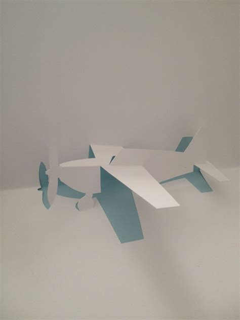 paper airplane place card template airplane pop up card template from quot cartes pop up en