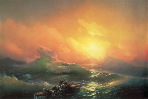 pics for gt ivan aivazovsky the ninth wave ivan konstantinovich aivazovsky 1817 1900 the ninth