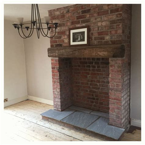 Hearth Bricks For Fireplaces by Exposed Brick Fireplace With Indian Hearth And