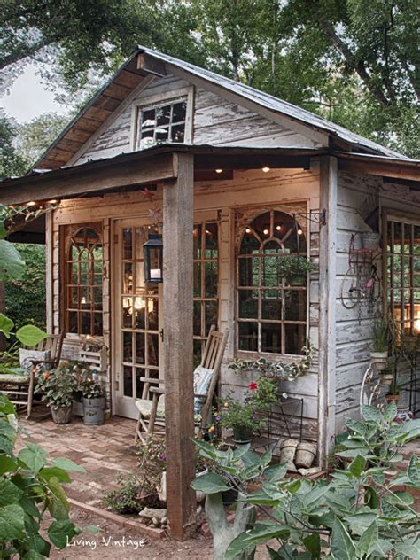 jennys garden shed revealed living vintage