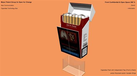 How To Make A Cigarette Box Out Of Paper - cigarette pack box tobacco packaging type 20 of 42