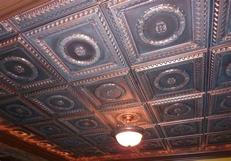 Easy Install Ceiling Tiles by Faux Tin Ceiling Tile Intersource Specialties Co