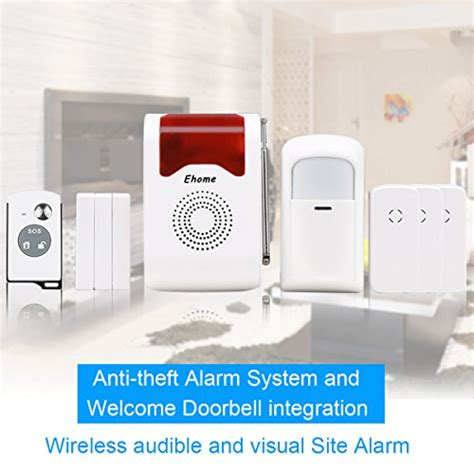 ehome wireless acousto optic home security alarm system