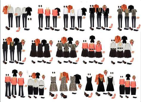 Professional Capsule Wardrobe by Building A Capsule Wardrobe Project 333 Community Board