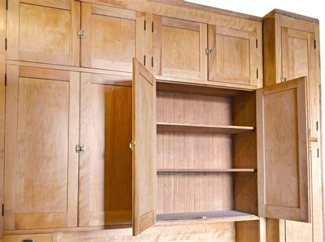 1920 kitchen cabinets pristine 1920s maple kitchen cabinet with original brass