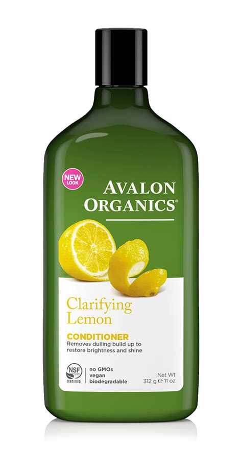 Shoo Organic Care hair care with lemon 2 clarifying lemon