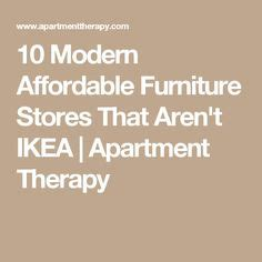 Apartment Therapy Furniture Stores 1000 Ideas About Modern Family Rooms On