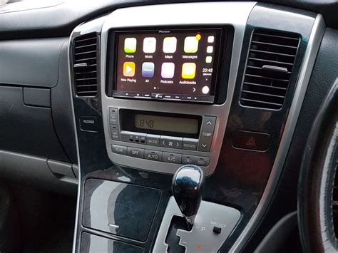 toyota alphard audio adapter