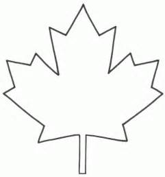coloring pages of maple leaf coloring - Maple Leaf Coloring Page