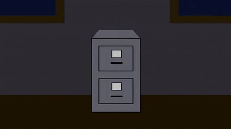 locker file cabinet gif  south park find share  giphy
