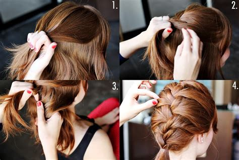 french braid your hair in 7 simple steps with a video how to style a classic french braid a beautiful mess