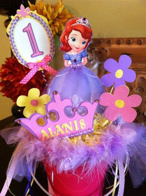 1000 images about sofia the centerpiece ideas on