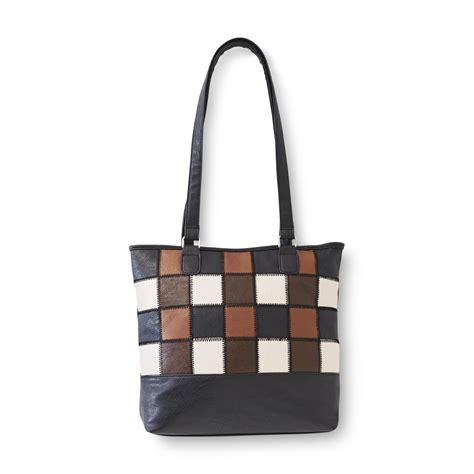 Patchwork Tote - smith s checkmate patchwork tote handbag