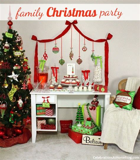 large family christmas party ideas family friendly ideas celebrations at home acevedo blaine62 s