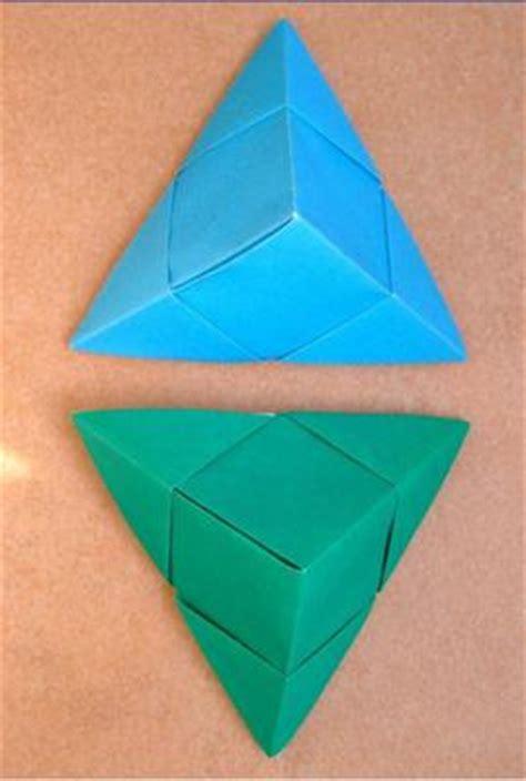 Paper Folding Pyramid - pyramid box