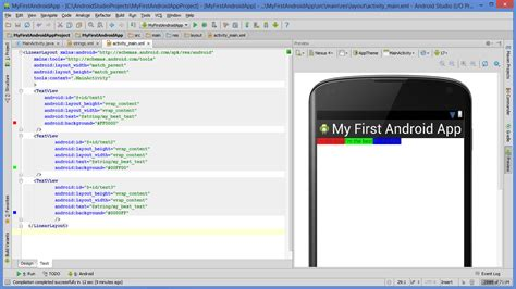 android studio layout width lesson how to build android app with linearlayout plus