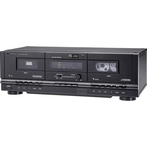 registratori a cassette registratore musicassette renkforce tp 1000 nero doppio