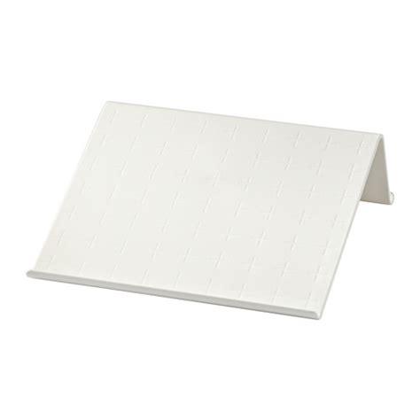 porta notebook ikea isberget soporte para tablet blanco ikea