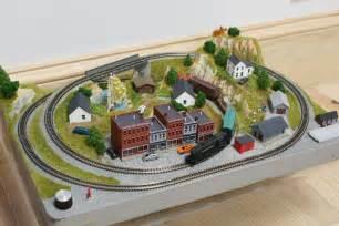 Free model train plans ho train section layouts