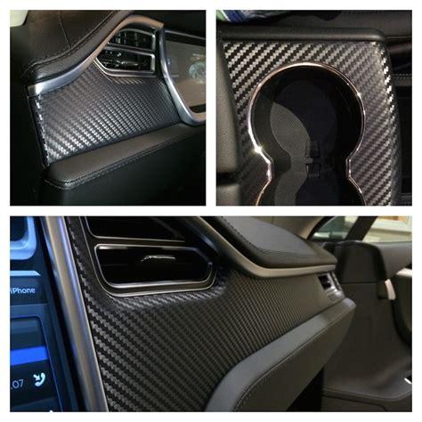 How To Wrap Interior Trim by How To Add A Carbon Fiber Interior Trim To The Model S